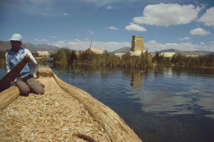 Uru Island, Lake Titicaca, Peru