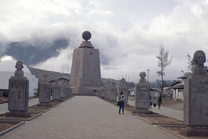Equatorial Monument near Quito, Ecuador